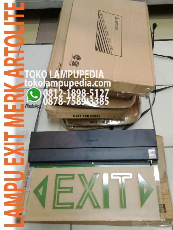 Jual Lampu Emergency Exit Artolite T5 8watt Toko Lampupedia