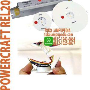 lampu powercraft rel20nm