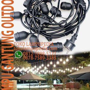 lampu gantung dekorasi outdoor