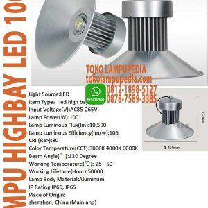 lampu highbay industri 100w