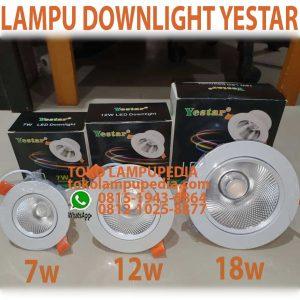lampu downlight led yestar