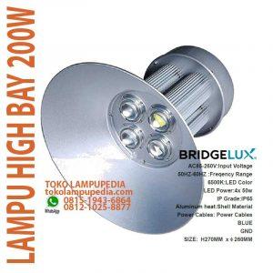 lampu high bay 200w