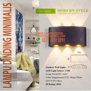 lampu dinding minimalis outdoor