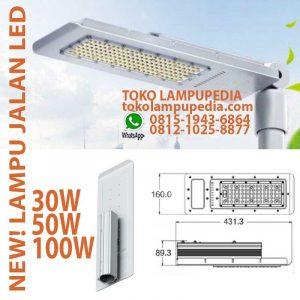 lampu jalan led 100w