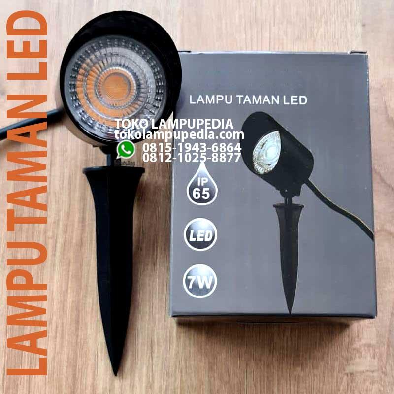 Jual Lampu Sorot Taman Led 7w Ip65 New Toko Lampupedia