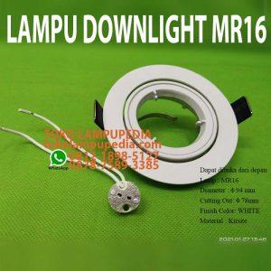 lampu downlight mr16