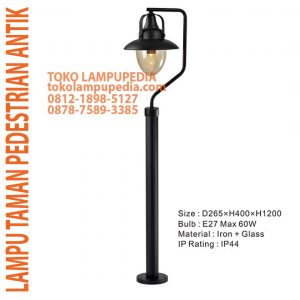 lampu pedestrian