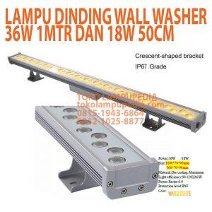 lampu dinding wall washer