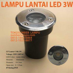 lampu lantai led 3w