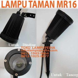 lampu sorot taman mr16