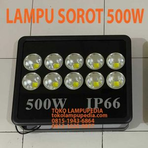 lampu sorot 500 watt