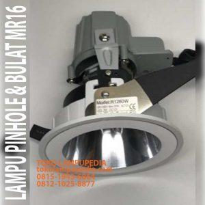 lampu pinhole oval bulat