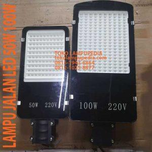 lampu jalan 50w 100w