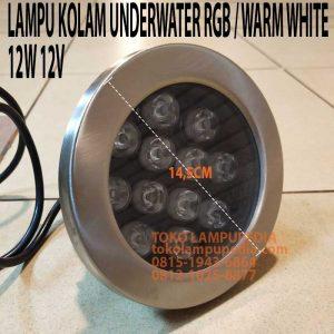 lampu kolam underwater 12w